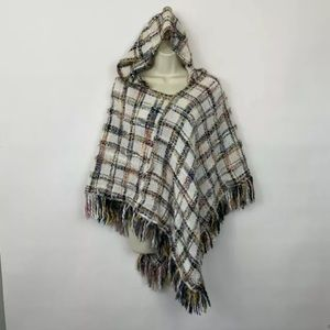 Eco Rising Tide Poncho Sweater One Size pullover